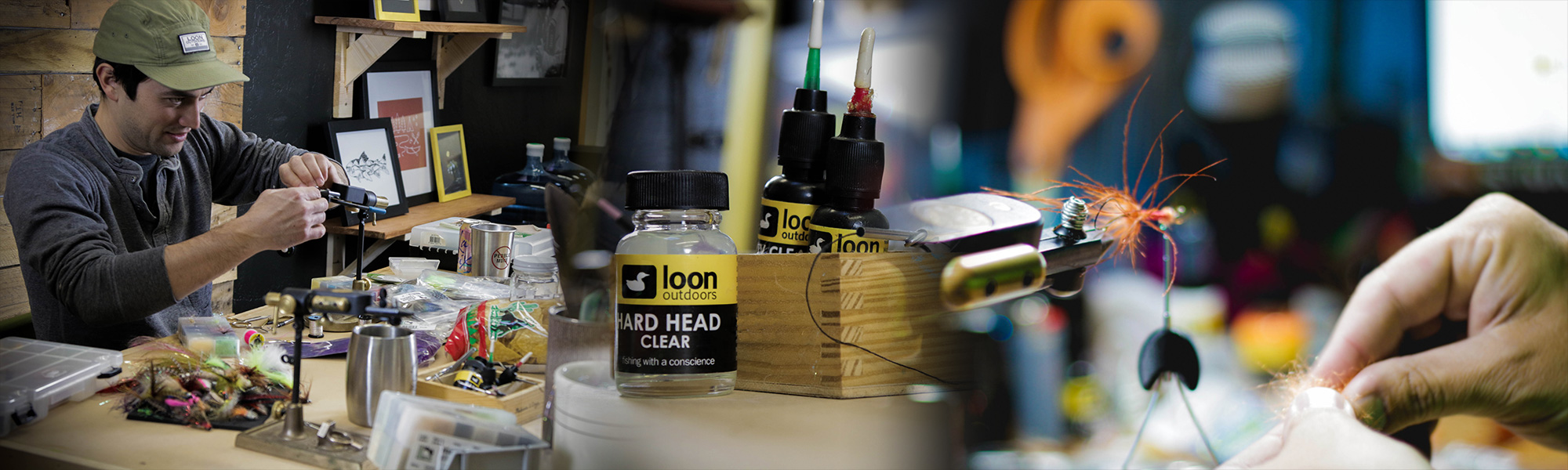 Fly tying and other products by Loon Outdoors