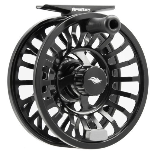 Allen Kraken Fly Fishing Reel Black 2