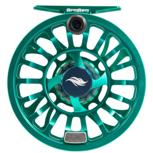 Allen Kraken Fly Fishing Reel Emerald 1