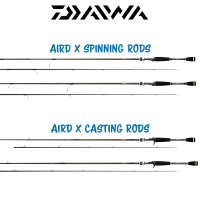 Daiwa AIRD X Spinning Casting Rods
