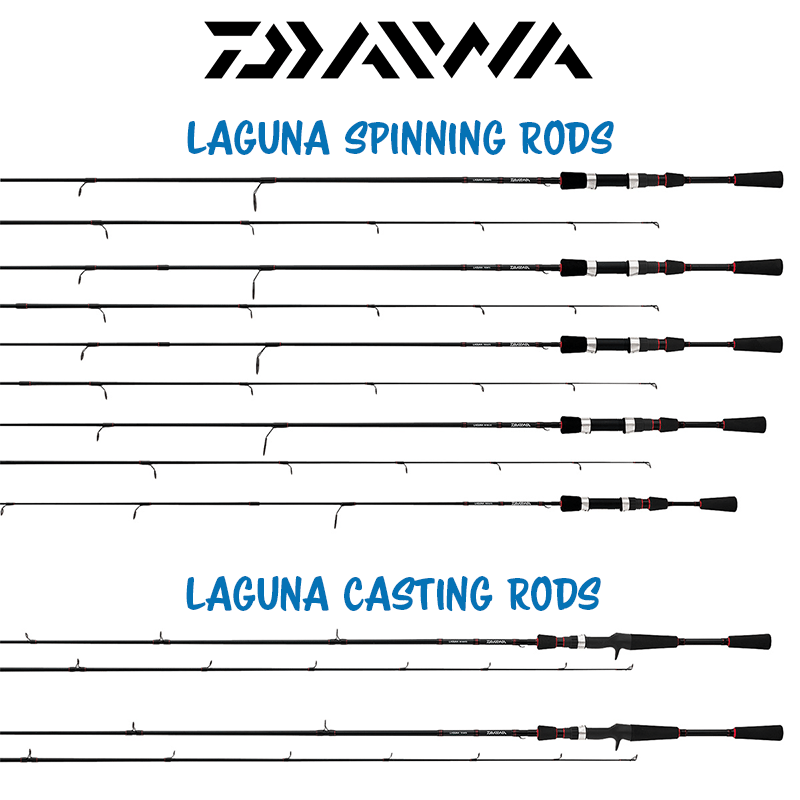 Daiwa Laguna Spinning and Casting Rods