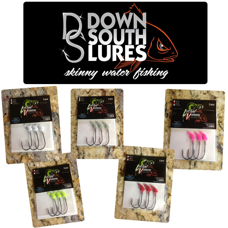 Down South Lures Lethal Venom Jig Heads