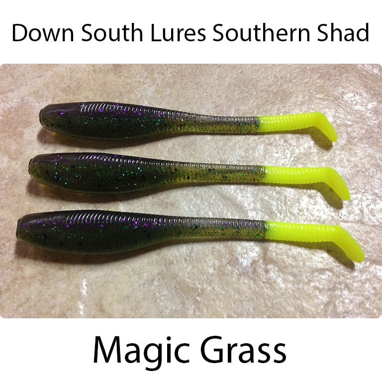 Down South Lures Southern Shad Magic Grass