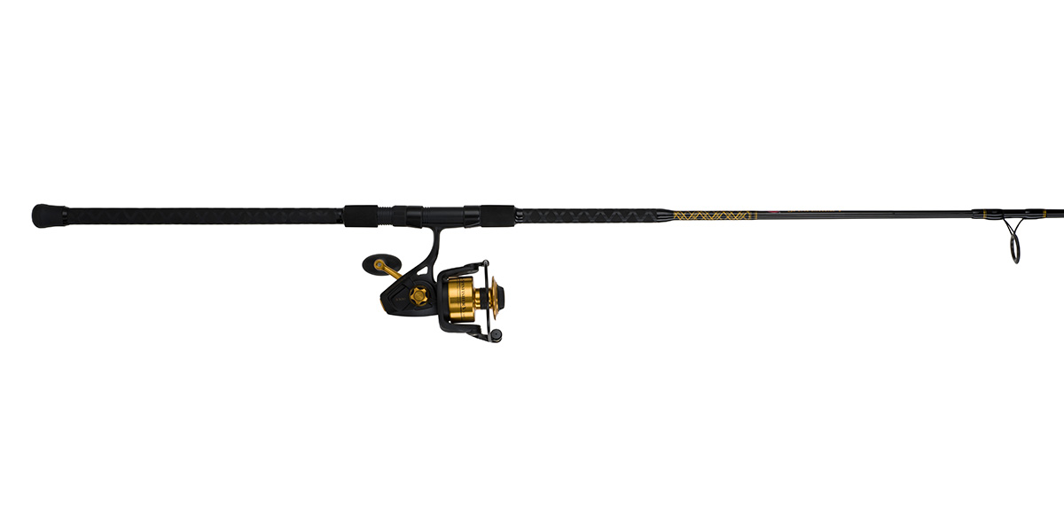 Penn spinfisher v spinning combo roy 39 s bait and tackle for Surf fishing combo