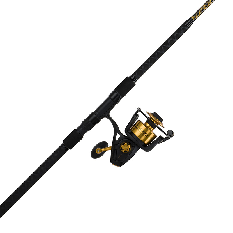 Penn spinfisher v spinning combo roy 39 s bait and tackle for Surf fishing rods and reel combos