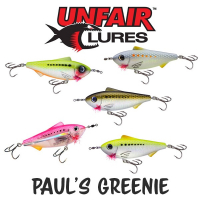 Unfair Lures Pauls Greenie