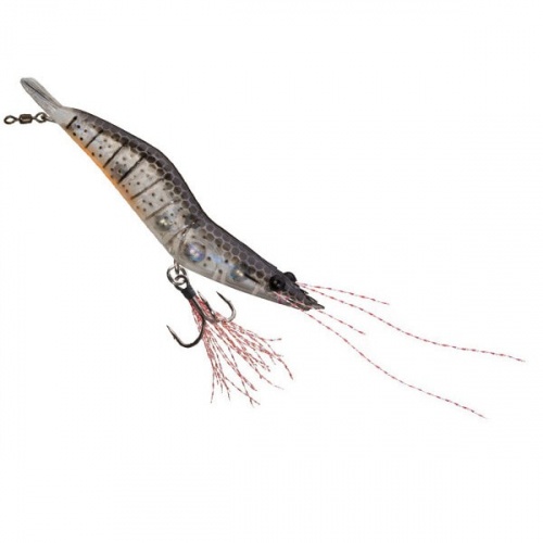 Unfair Lures Pauls Rattlin Shrimp 06 Natural Black