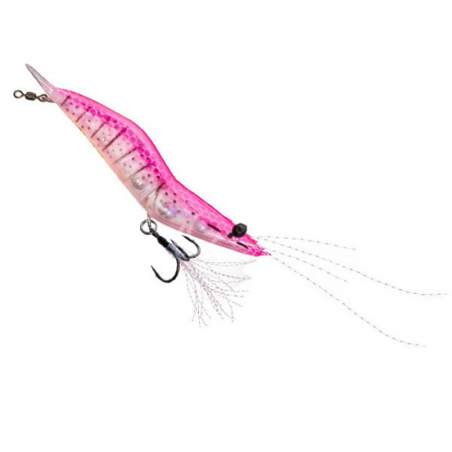 Unfair Lures Pauls Rattlin Shrimp 07 FL Pink