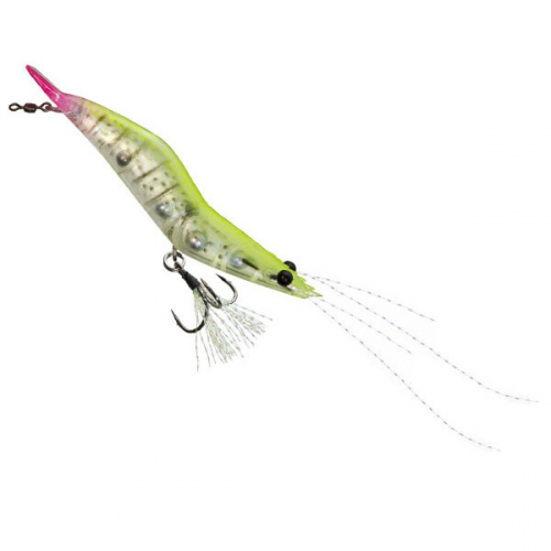 Unfair Lures Pauls Rattlin Shrimp 12 Electric Pink