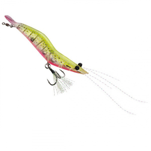 Unfair Lures Pauls Rattlin Shrimp 13 Hot Chicken