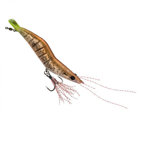 Unfair Lures Pauls Rattlin Shrimp 18 Tan Treuse