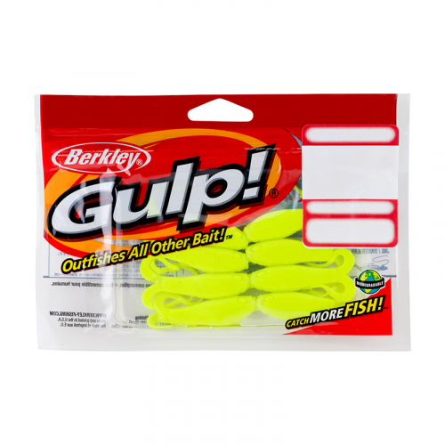 Berkley Gulp Doubletail Minnow Grub 8 Count Package