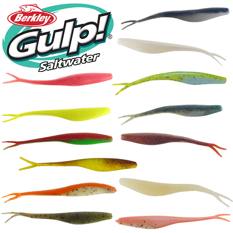 Berkley gulp saltwater jerk shad roy 39 s bait and tackle for Roy s fishing supply