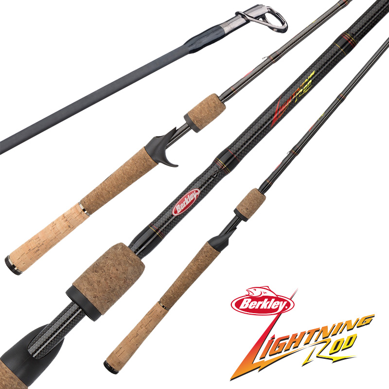 Berkley Lightning Rod Casting And Spinning Rods