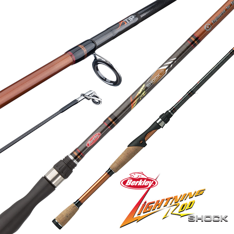Berkley Lightning Rod Shock Casting And Spinning Rods