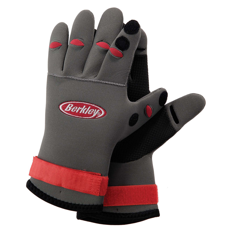 Berkley neoprene fishing gloves roy 39 s bait and tackle for Neoprene fishing gloves