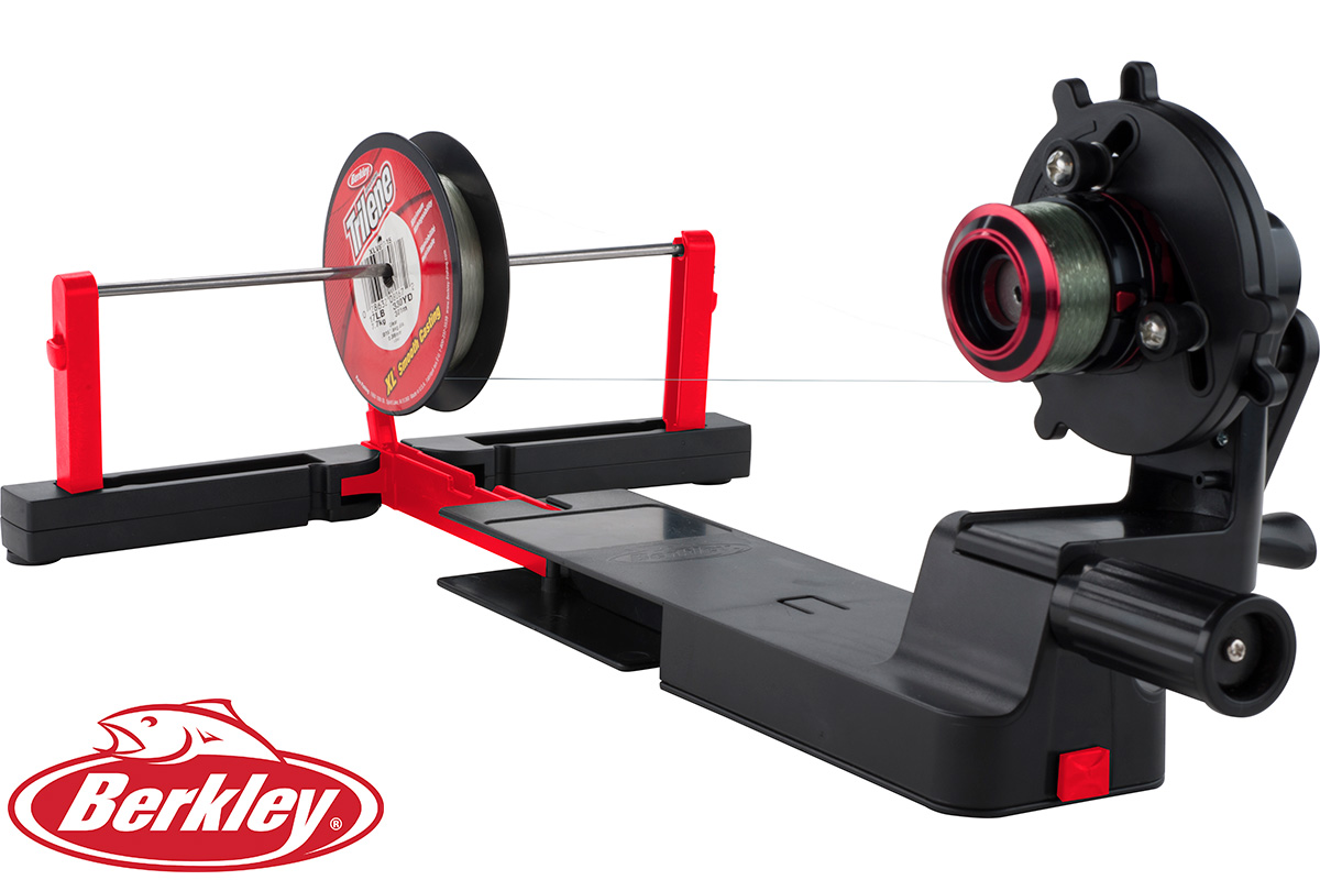 Berkley portable line spooling station roy 39 s bait and for Professional fishing line spooler
