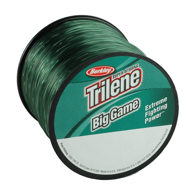 Berkley trilene big game mono 1 4 lb spools roy 39 s bait for 30 lb fishing line