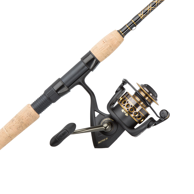 Penn battle ii spinning combo roy 39 s bait and tackle for Penn fishing combos