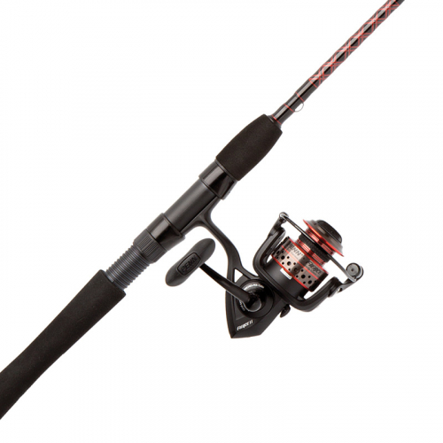 Penn Fierce II Spinning Combo Inshore Closeup