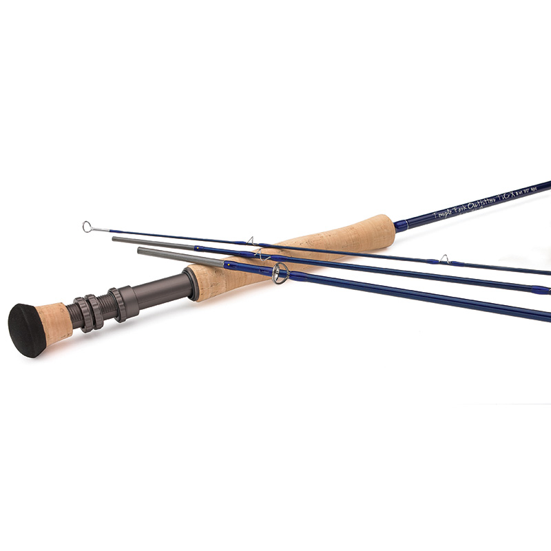 TFO Lefty Kreh TiCrX Fly Rod