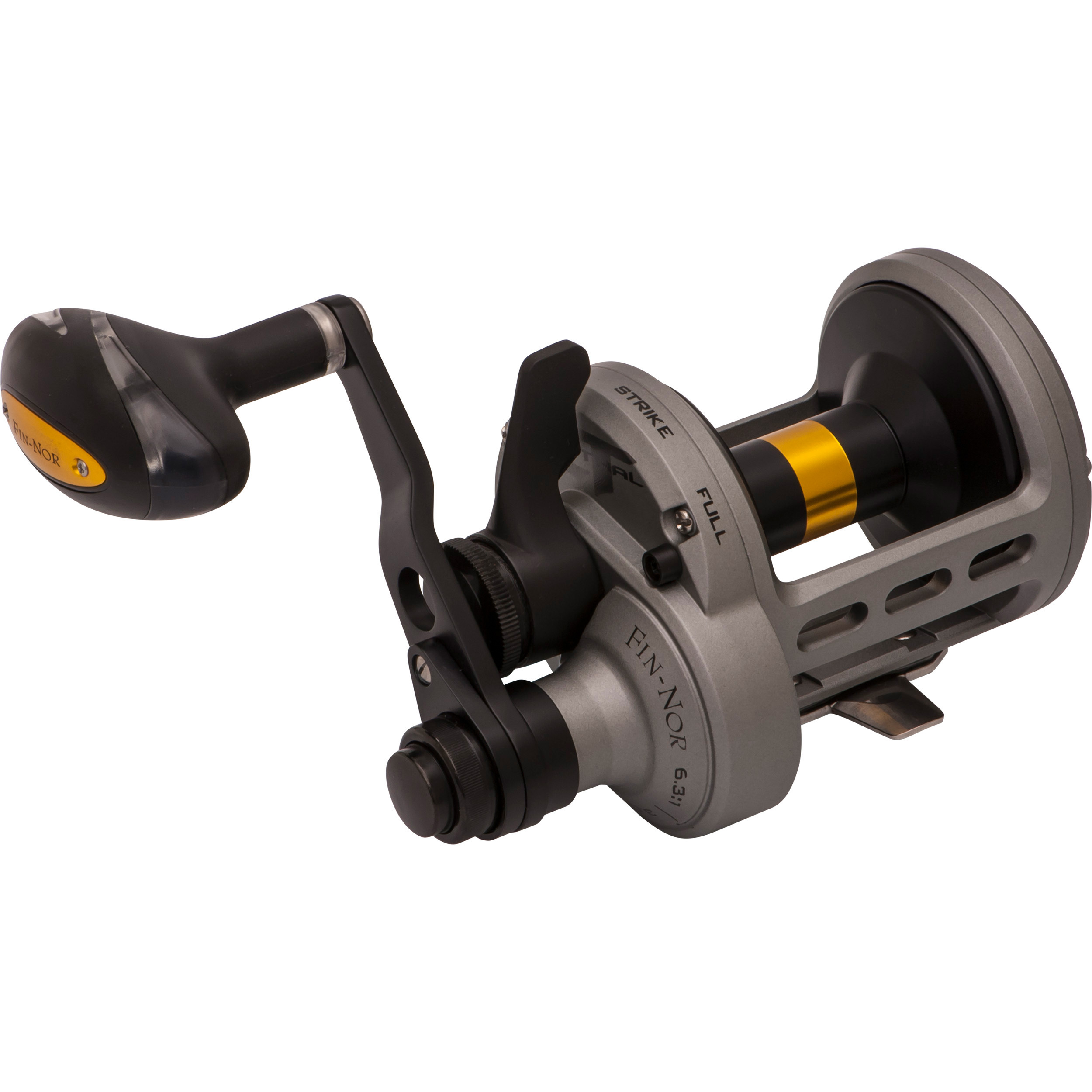 FIN-NOR LETHAL TWO SPEED LEVER DRAG REEL LTL30II