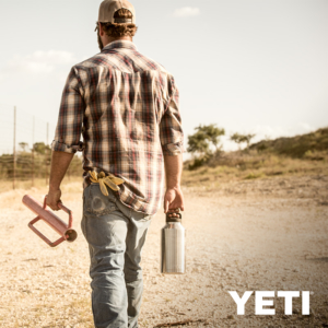 YETI RAMBLER 64 OZ BOTTLE DURABLE AND TOUGH