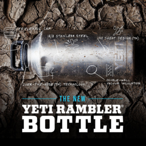 YETI RAMBLER BOTTLE FEATURES