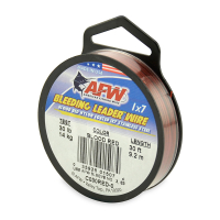 AMERICAN FISHING WIRE BLEEDING LEADER WIRE C030RED-0