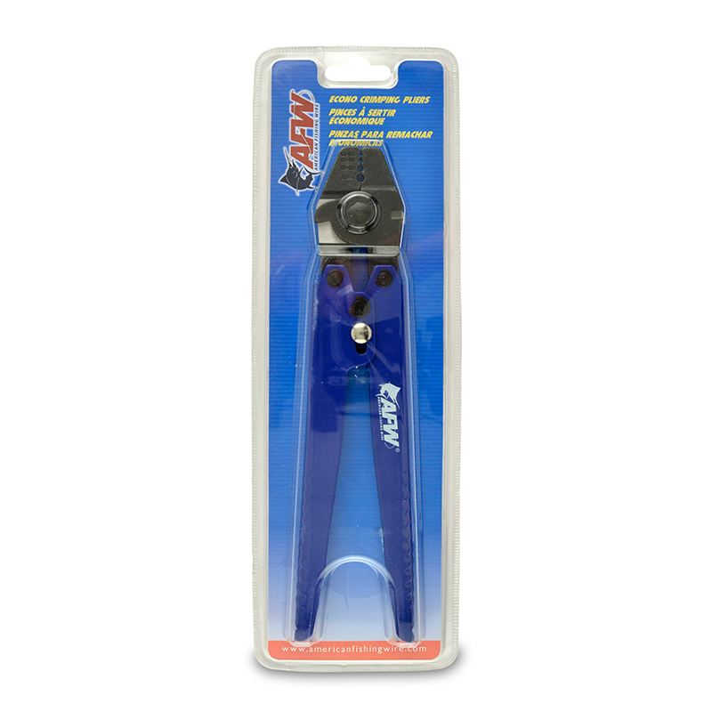 AMERICAN FISHING WIRE ECONO CRIMPING PLIERS PACKAGE TPCRPHD-ECONO