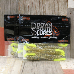 Down South Southern Shad Lures - Dirty Tequila