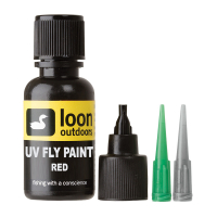 LOON OUTDOORS UV FLY PAINT RED