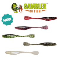 GAMBLER LURES 6 INCH FLAPPN SHAD WITH NEW COLORS