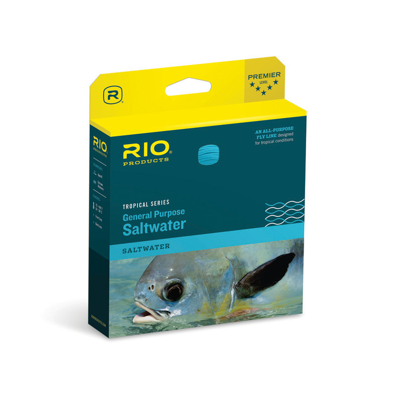 RIO GENERAL PURPOSE SALTWATER FLOATING INTERMEDIATE FLY LINE