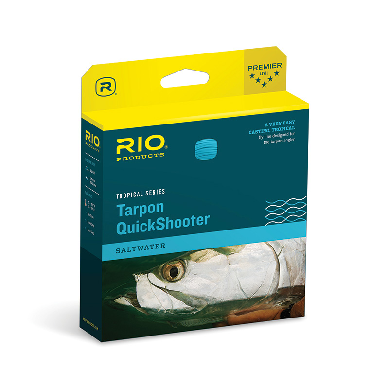 RIO TARPON QUICKSHOOTER FLOATING INTERMEDIATE FLY LINE
