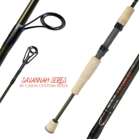 CAJUN CUSTOM RODS SAVANNAH SPINNING RODS