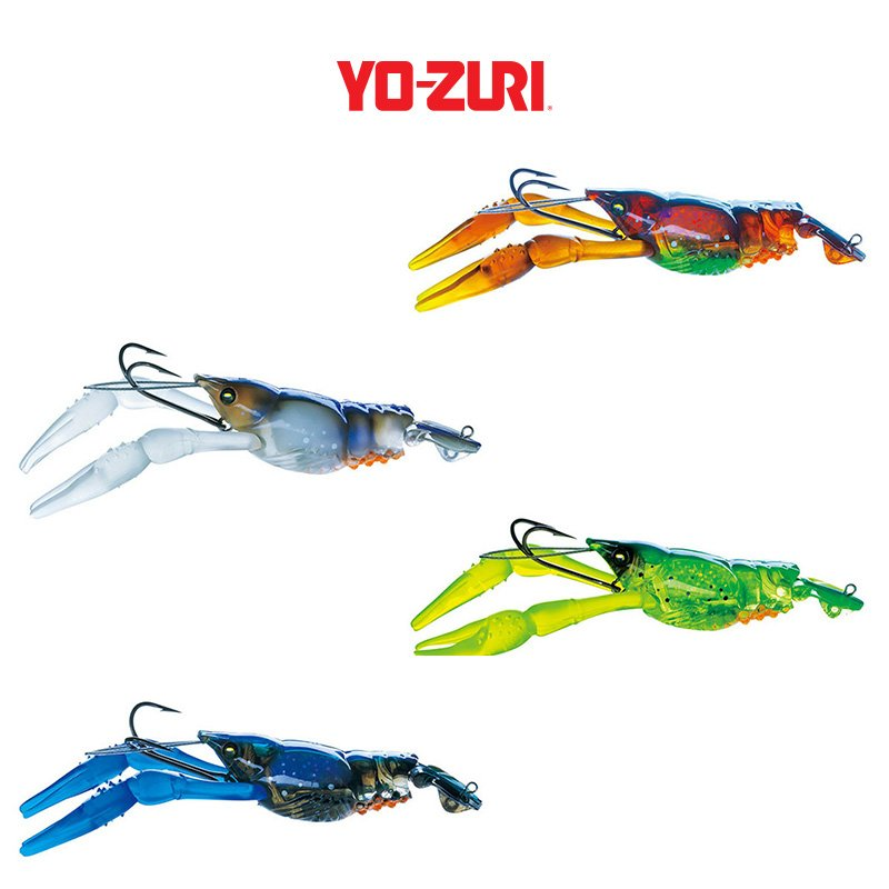 Yo zuri 3db crayfish roy 39 s bait and tackle outfitters for Yo zuri fishing line