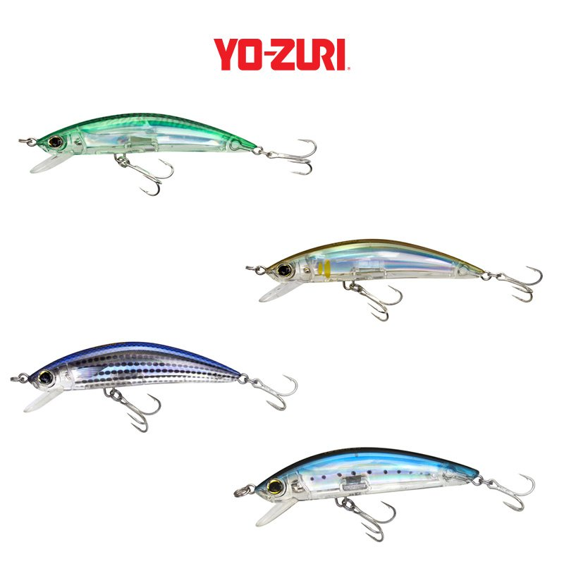 Yo zuri 3d inshore minnow roy 39 s bait and tackle outfitters for Yo zuri fishing line
