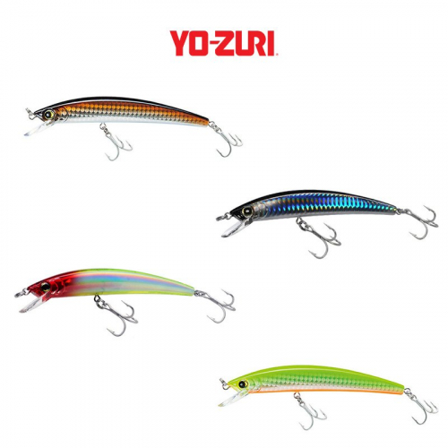 YO-ZURI CRYSTAL FLOATING MINNOW