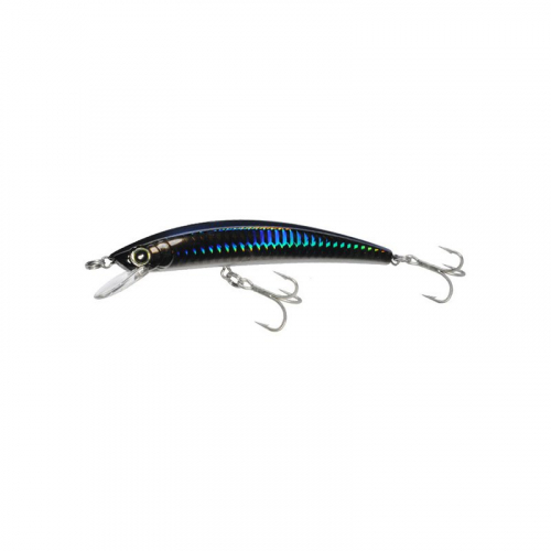 YO-ZURI CRYSTAL FLOATING MINNOW R1124-HGHB2 GHOST BLACK