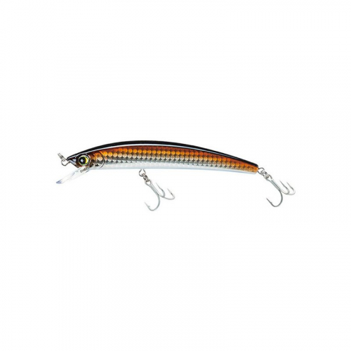 YO-ZURI CRYSTAL FLOATING MINNOW R1124-HRSN HOLOGRAPHIC BRONZE SHINER