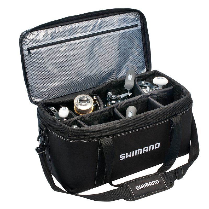 Shimano bhaltair reel bags roy 39 s bait and tackle outfitters for Fishing reel bag