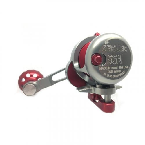 SEIGLER REELS SGN SMALL GAME NARROW RED